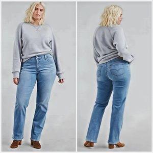 Levis light wash straight curve size 12 jeans